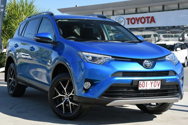 Pre-Owned Toyota RAV4 ZSA42R GXL 2WD North Lakes, 2018 Toyota RAV4 ZSA42R GXL 2WD Blue Gem 7 Speed Constant Variable Wagon