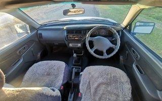 2003 Mitsubishi Triton MK MY04 GLX Double Cab 4x2 White 5 Speed Manual Utility