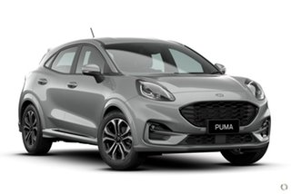 2021 Ford Puma JK 2021.25MY ST-Line Silver 7 Speed Sports Automatic Dual Clutch Wagon.