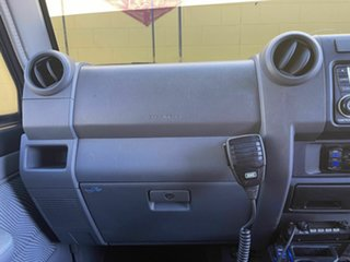 2014 Toyota Landcruiser VDJ79R GXL Grey 5 Speed Manual Cab Chassis