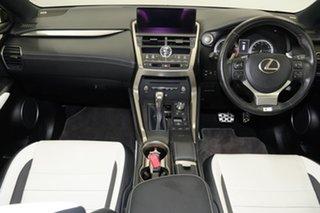 2017 Lexus NX AGZ10R NX300 2WD F Sport Black 6 Speed Sports Automatic Wagon