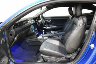 2017 Ford Mustang FM MY17 Fastback GT 5.0 V8 Blue 6 Speed Manual Coupe