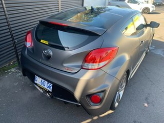 2012 Hyundai Veloster FS2 SR Coupe Turbo Matte Gunmetal Grey/ 6 Speed Manual Hatchback