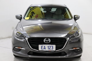 2018 Mazda 3 BN5438 SP25 SKYACTIV-Drive Grey 6 Speed Sports Automatic Hatchback.
