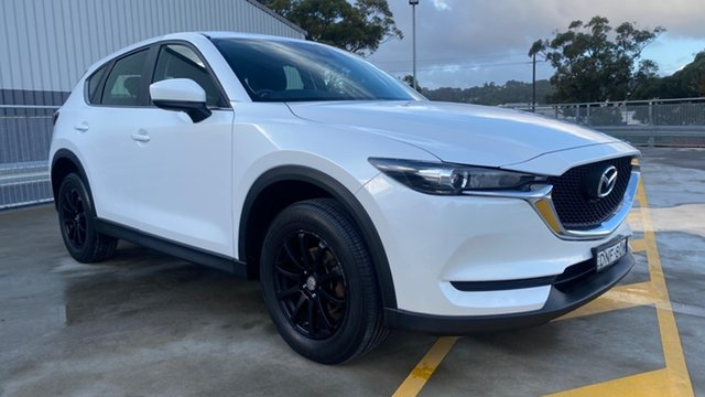 Used Mazda CX-5 KF2W7A Maxx SKYACTIV-Drive FWD Cardiff, 2017 Mazda CX-5 KF2W7A Maxx SKYACTIV-Drive FWD White 6 Speed Sports Automatic Wagon