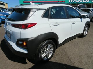 2019 Hyundai Kona OS.2 MY19 Active 2WD White 6 Speed Sports Automatic Wagon