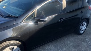 2016 Kia Cerato YD MY17 S Black 6 Speed Sports Automatic Hatchback.