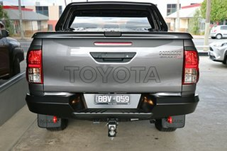 2019 Toyota Hilux GUN126R Rugged X Double Cab Grey 6 Speed Sports Automatic Utility