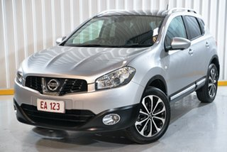 2013 Nissan Dualis J10W Series 3 MY12 Ti-L Hatch X-tronic 2WD Silver 6 Speed Constant Variable.