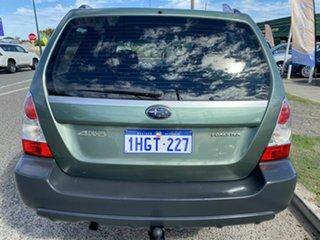 2007 Subaru Forester MY07 X Green 4 Speed Auto Elec Sportshift Wagon.