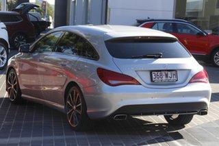 2015 Mercedes-Benz CLA-Class X117 806MY CLA200 Shooting Brake DCT Silver 7 Speed.