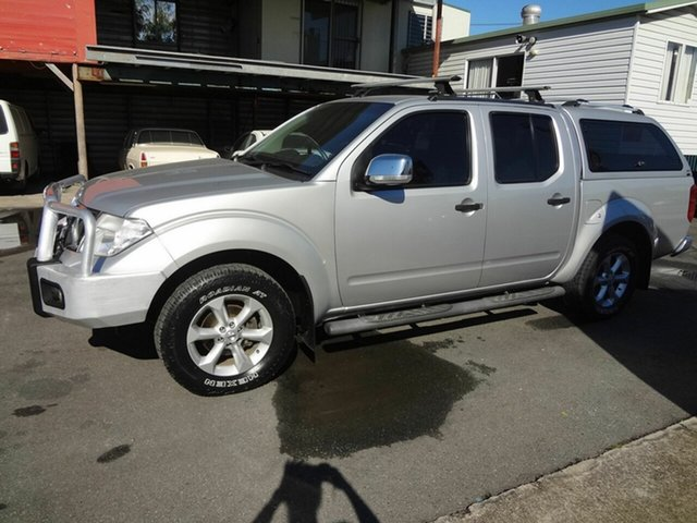 Used Nissan Navara D40 Series 4 ST-X (4x4) Coopers Plains, 2011 Nissan Navara D40 Series 4 ST-X (4x4) Silver 5 Speed Automatic Dual Cab Pick-up
