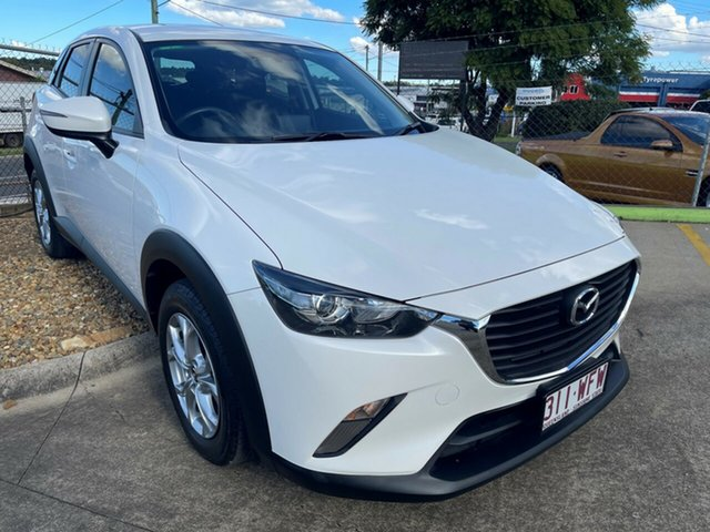 Used Mazda CX-3 DK2W7A Maxx SKYACTIV-Drive Toowoomba, 2016 Mazda CX-3 DK2W7A Maxx SKYACTIV-Drive Snowflake White 6 Speed Sports Automatic Wagon