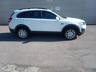 2015 Holden Captiva CG MY15 7 LS White 6 Speed Sports Automatic Wagon.
