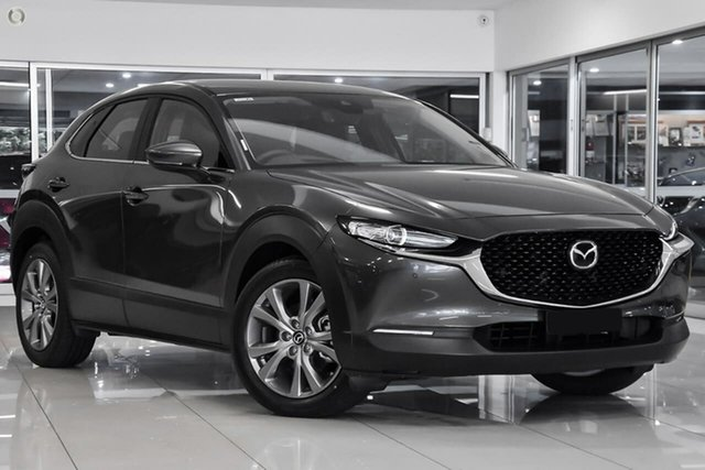 New Mazda CX-30 DM2WLA G25 SKYACTIV-Drive Touring Waitara, 2021 Mazda CX-30 DM2WLA G25 SKYACTIV-Drive Touring Grey 6 Speed Sports Automatic Wagon