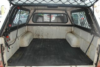 2008 Mazda BT-50 XL White Manual Dual Cab