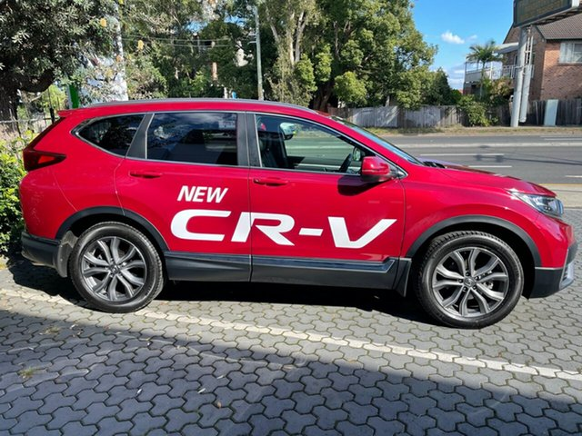 Demo Honda CR-V RW MY21 VTi 4WD LX AWD Artarmon, 2020 Honda CR-V RW MY21 VTi 4WD LX AWD Ignite Red 1 Speed Constant Variable Wagon
