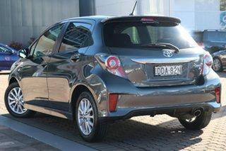 2016 Toyota Yaris NCP131R ZR Grey Metallic 4 Speed Automatic Hatchback.