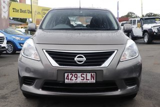 2013 Nissan Almera N17 ST Brown 4 Speed Automatic Sedan.