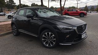 2021 Mazda CX-3 DK2W7A sTouring SKYACTIV-Drive FWD Jet Black 6 Speed Sports Automatic Wagon.