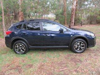 2018 Subaru XV G5X MY19 2.0i Lineartronic AWD Dark Blue Pearl/clot 7 Speed Constant Variable Wagon.