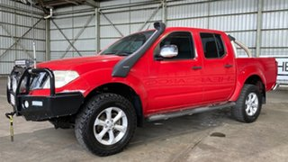 2010 Nissan Navara D40 MY10 ST-X Red 6 Speed Manual Utility.