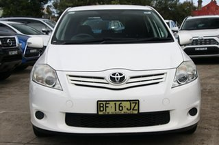 2010 Toyota Corolla ZRE152R MY10 Ascent Glacier White 4 Speed Automatic Hatchback