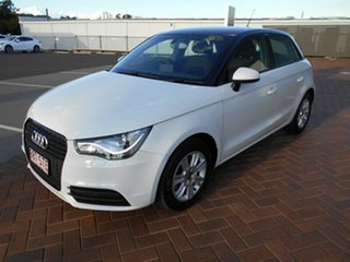 2012 Audi A1 8X MY12 Attraction Sportback S Tronic 7 Speed Sports Automatic Dual Clutch Hatchback.