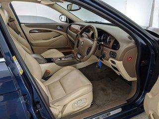 2007 Jaguar S-Type X204 MY2008 Luxury Blue 6 Speed Automatic Sedan