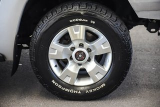 2013 Nissan Patrol GU Series 9 ST (4x4) Silver 4 Speed Automatic Wagon