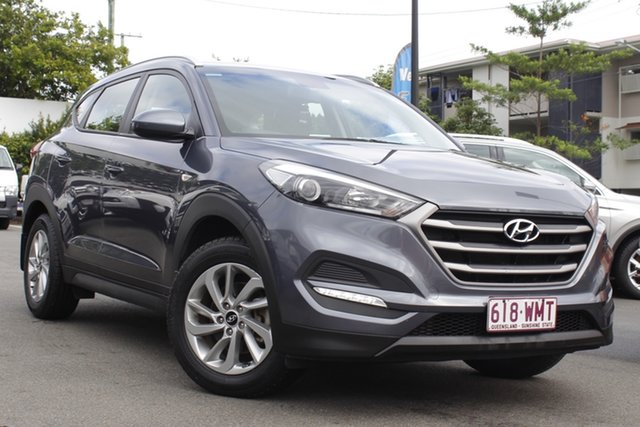 Used Hyundai Tucson TLE Active 2WD Mount Gravatt, 2015 Hyundai Tucson TLE Active 2WD Grey 6 Speed Sports Automatic Wagon