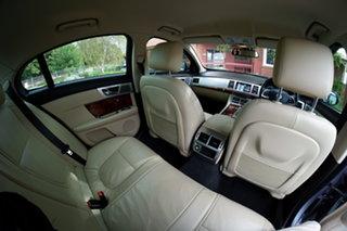 2013 Jaguar XF X250 MY13 Premium Luxury Silver 8 Speed Sports Automatic Sedan