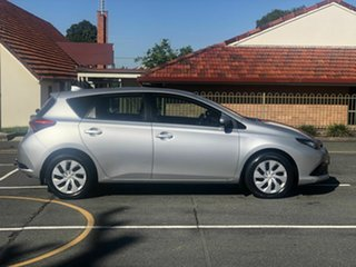 2016 Toyota Corolla ZRE182R Ascent Silver 6 Speed Manual Hatchback.