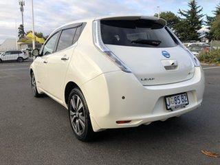 2013 Nissan Leaf ZE0 White 1 Speed Automatic Hatchback