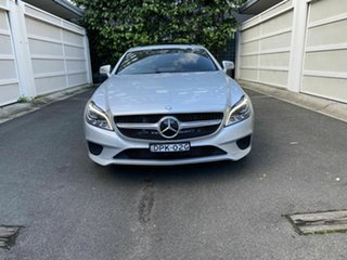 2016 Mercedes-Benz CLS-Class C218 807MY CLS250 d Coupe 7G-Tronic + Silver 7 Speed Sports Automatic.