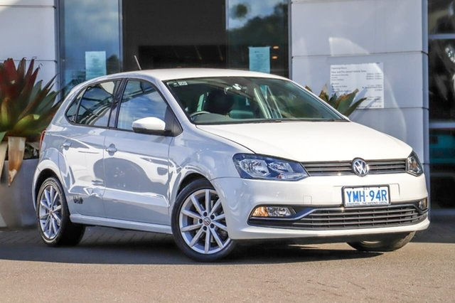 Used Volkswagen Polo 6R MY17.5 81TSI DSG Urban+ Sutherland, 2017 Volkswagen Polo 6R MY17.5 81TSI DSG Urban+ White 7 Speed Sports Automatic Dual Clutch Hatchback
