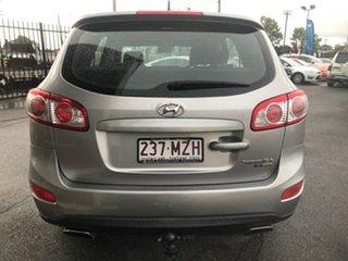 2010 Hyundai Santa Fe CM MY10 SLX CRDi (4x4) Silver 6 Speed Automatic Wagon