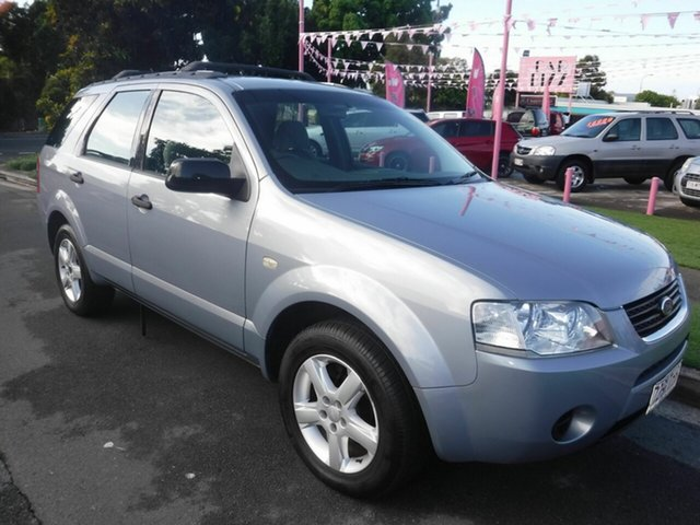 Used Ford Territory SY TS Margate, 2008 Ford Territory SY TS Silver 5 Speed Automatic Wagon