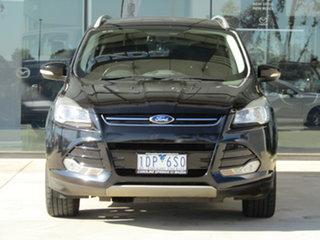2014 Ford Kuga TF MY15 Trend PwrShift AWD Black 6 Speed Sports Automatic Dual Clutch Wagon.