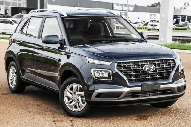 New Hyundai Venue QX.V3 MY21 Oakleigh, 2021 Hyundai Venue QX.V3 MY21 Blue 6 Speed Automatic Wagon