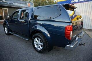 2010 Nissan Navara D40 MY10 ST-X Deep Sapphire 5 Speed Automatic Utility.