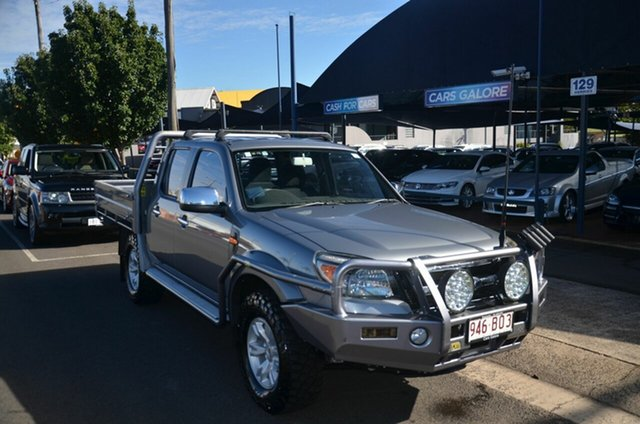 Used Ford Ranger PK XLT (4x4) Toowoomba, 2010 Ford Ranger PK XLT (4x4) Grey 5 Speed Manual Dual Cab Pick-up