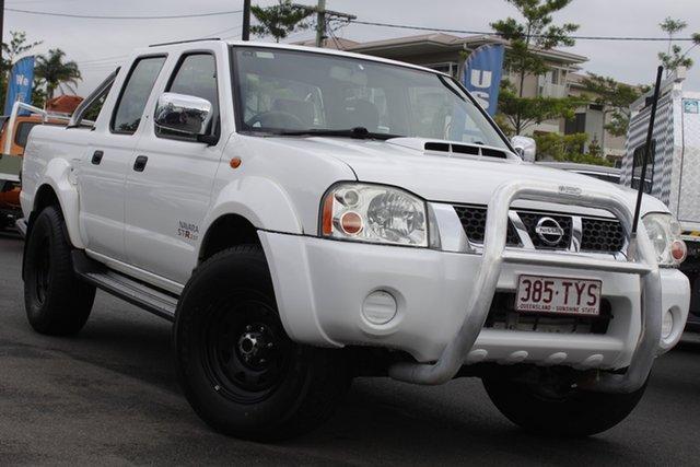 Used Nissan Navara D22 S5 ST-R Mount Gravatt, 2014 Nissan Navara D22 S5 ST-R White 5 Speed Manual Utility