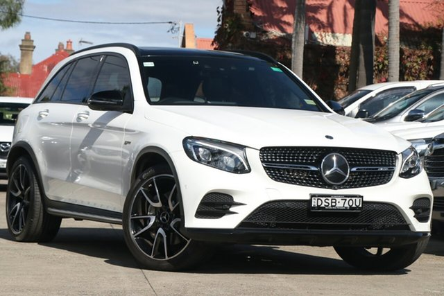 Pre-Owned Mercedes-AMG GLC43 253 MY17 Mosman, 2017 Mercedes-AMG GLC43 253 MY17 White 9 Speed Automatic G-Tronic Wagon