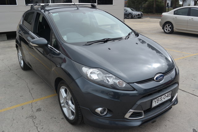 Used Ford Fiesta WT Zetec PwrShift Maryville, 2013 Ford Fiesta WT Zetec PwrShift Grey 6 Speed Sports Automatic Dual Clutch Hatchback