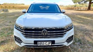 2019 Volkswagen Touareg CR MY19 190TDI Tiptronic 4MOTION Launch Edition Pure White 8 Speed.
