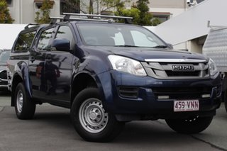 2015 Isuzu D-MAX MY15 SX Crew Cab Blue 5 Speed Sports Automatic Cab Chassis