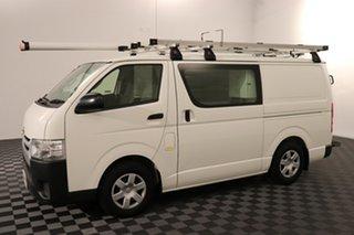 2016 Toyota HiAce KDH201R LWB White 4 speed Automatic Van