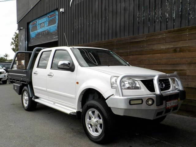 Used Great Wall V200 K2 MY12 Labrador, 2012 Great Wall V200 K2 MY12 White 6 Speed Manual Utility