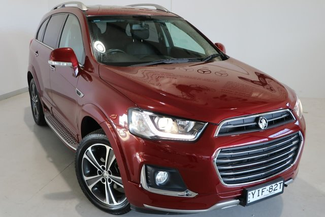 Used Holden Captiva CG MY18 LTZ AWD Wagga Wagga, 2018 Holden Captiva CG MY18 LTZ AWD Red 6 Speed Sports Automatic Wagon